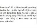 Bài 1 trang 25 SGK Sinh học 6