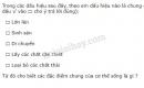 Bài 2 trang 6 SGK Sinh học 6