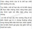 Bài 1 trang 85 SGK Sinh 6
