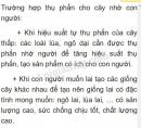 Bài 2 trang 102 SGK Sinh học 6