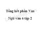 Soạn bài tổng kết phần văn trang 154 SGK Văn 6