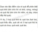 Bài 1 trang 107 SGK Sinh học 6
