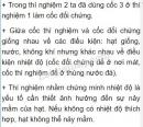 Bài 1 trang 115 SGK Sinh 6