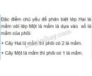 Bài 1 trang 139 SGK Sinh học 6