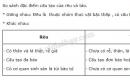 Bài 2 trang 127 SGK Sinh học 6
