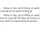 Bài 2 trang 156 SGK Sinh học 6