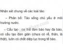 Bài 3 trang 125 SGK Sinh 6