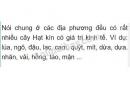 Bài 3 trang 156 SGK Sinh học 6