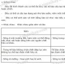 Bài 3 trang 167 SGK Sinh học 6