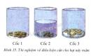 Kết quả của thí nghiệm cho ta biết hạt nảy mầm cần những điều kiện gì - trang 113