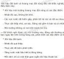 Bài 2 trang 188 SGK Sinh học 7