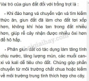 Bài 3 trang 55 SGK Sinh học 7