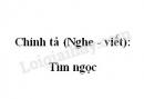 Chính tả (Nghe - viết): Tìm ngọc trang 140 SGK Tiếng Việt 2 tập 1
