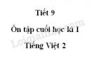Tiết 9 - Ôn tập cuối học kì I trang 151, 152 SGK Tiếng Việt 2 tập 1