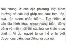 Bài 1 trang 81 SGK Sinh học 7