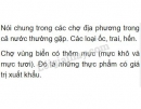 Bài 2 trang 73 SGK Sinh học 7