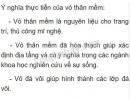Bài 3 trang 73 SGK Sinh học 7