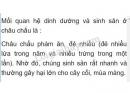 Bài 3 trang 88 SGK Sinh học 7