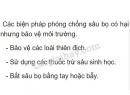 Bài 3 trang 93 SGK Sinh học 7