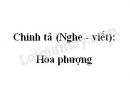 Chính tả (Nghe - viết): Hoa phượng trang 97 SGK Tiếng Việt 2 tập 2
