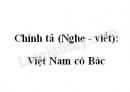 Chính tả (Nghe - viết): Việt Nam có Bác