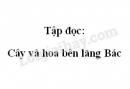 Soạn bài Tập đọc: Cây và hoa bên lăng Bác trang 111 SGK Tiếng Việt 2 tập 2