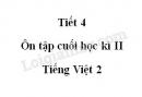 Tiết 4 - Ôn tập cuối học kì II trang 142 SGK Tiếng Việt 2 tập 2