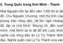 Trung Quốc trong thời Minh - Thanh