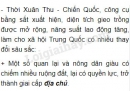Giai cấp địa chủ và nông dân tá điền đã được hình thành như thế nào ở Trung Quốc ?