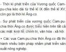 Sự phát triển của Vương quốc Cam-pu-chia thời Ăng-co được biểu hiện như thế nào?