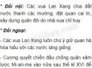 Em hãy nêu các chính sách đối nội và đối ngoại của các vua Lan Xang.