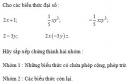 Hoạt động 1 trang  59 Tài liệu dạy – học Toán 7 tập 2