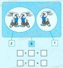 Bài 1, bài 2, bài 3 trang 45 sgk toán lớp 1