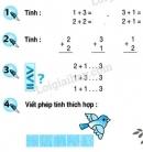 Bài 1, 2, 3, 4 trang 47 SGK Toán 1