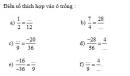 Bài 7 trang 19 Tài liệu dạy – học toán 6 tập 2