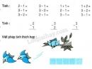 Bài 1, 2, 3 trang 54 SGK Toán 1