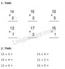 Bài 1, 2, 3 trang 108 SGK Toán 1