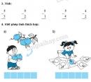 Bài 1, 2, 3, 4 trang 59 SGK Toán 1