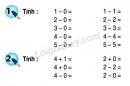 Bài 1, 2, 3 trang 61 SGK Toán 1