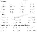 Bài 1, 2, 3, 4, 5 trang 80 SGK Toán 1