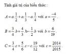 Bài 9 trang 54 Tài liệu dạy – học toán 6 tập 2