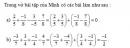 Bạn nào đúng 2 trang 37 Tài liệu dạy – học toán 6 tập 2