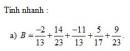 Thử tài bạn 3 trang 37 Tài liệu dạy – học toán 6 tập 2