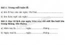 Bài 1, bài 2 trang 161 sgk toán lớp 1