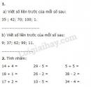 Bài 1, bài 2, bài 3, bài 4, bài 5 trang 180 sgk