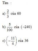Bài 1 trang 73 Tài liệu dạy – học toán 6 tập 2