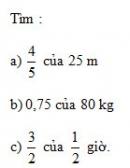 Bài 2 trang 73 Tài liệu dạy – học toán 6 tập 2