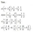 Bài 7 trang 57 Tài liệu dạy – học toán 6 tập 2
