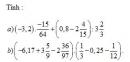 Bài 8 trang 57 Tài liệu dạy – học toán 6 tập 2