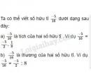 Bài 12 trang 12 sgk toán 7 tập 1